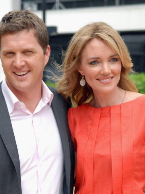 Petra Bagust, seen here with Corin Dann, has announced today she will be leaving TV One's...