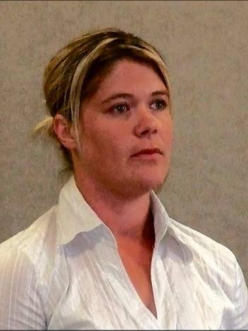 Philippa Lynette Lindsay in the Queenstown District Court yesterday.