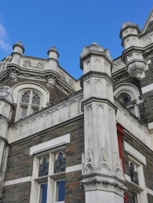 Dunedin's historic courthouse. Photo by Gregor Richardson.