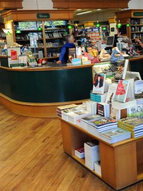 The University Book Shop. Photo by Linda Robertson.