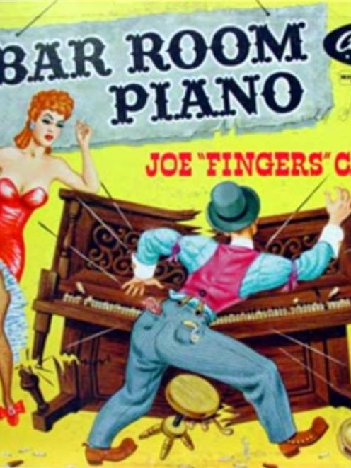 Piano playing at its ragtime best.