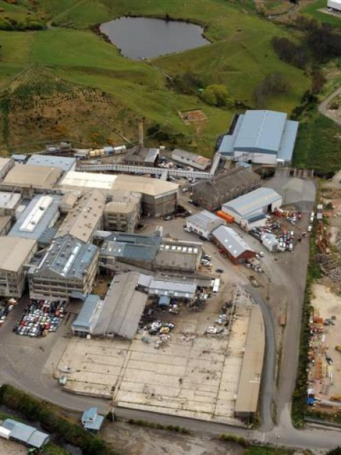 Pinnacle Steel wants to build on the old Burnside freezing works site. Photo ODT Files