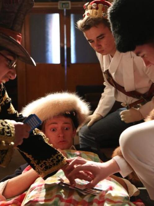 Pirates! Preposterous Pandemonium cast members (from left) Kiran Dixon, Mitchell King, Liam...
