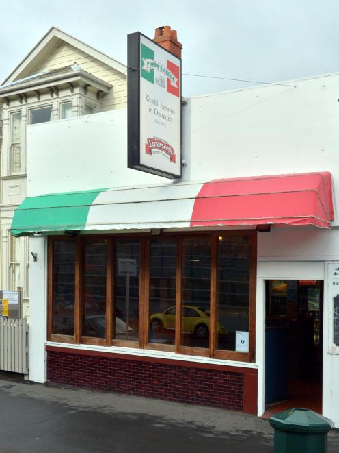 Poppa's Pizzeria on Albany Street. Photo:Gerard O'Brien