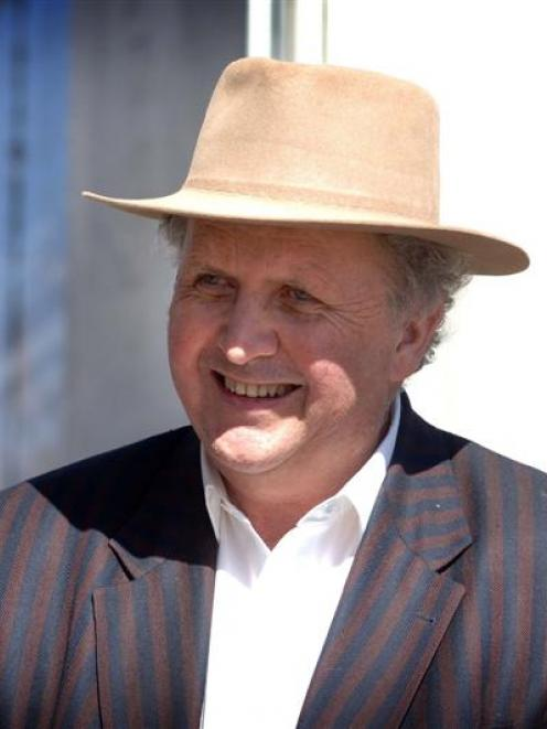 Popular Scottish author Alexander McCall Smith will speak in Dunedin on May 10. Photo supplied.