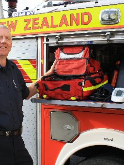 Port Chalmers Volunteer Fire Brigade Chief Fire Officer Stephen Hill says the brigade attends...