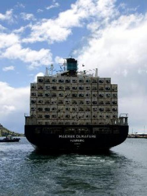 Port of Tauranga expects strong demand for New Zealand's exports will continue to drive cargo...