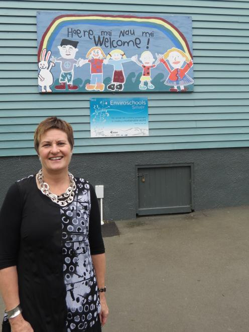 Portobello School principal Shelley Wilde left at the end of Term 1 for Tainui School. Photo by...