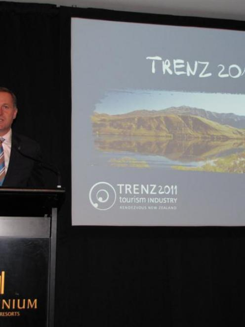 Prime Minister and Tourism Minister John Key told Trenz media delegates in Queenstown last year...