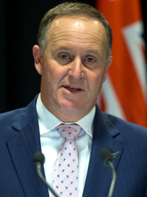Prime Minister John Key is heading overseas immediately after the result of the national flag...
