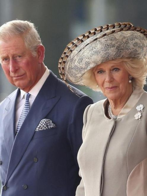 Prince Charles and Camilla, the Duchess of Cornwall, will visit Dunedin next Thursday. Photo Reuters