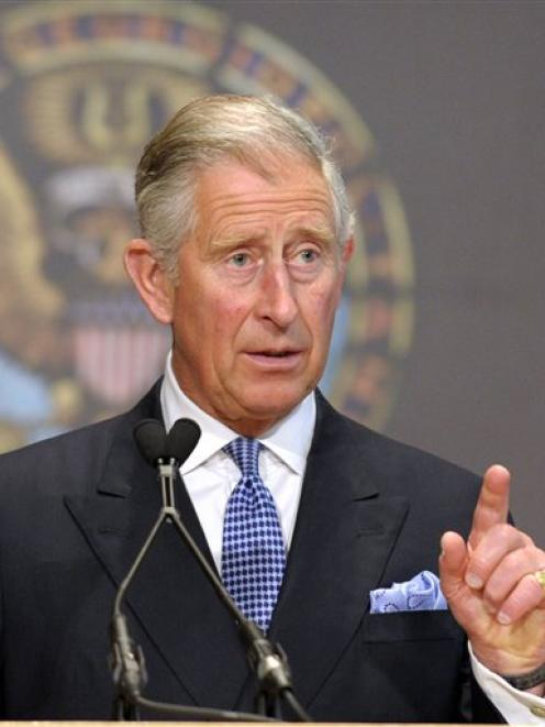 Prince Charles 'wouyld make a fine king' says John Key. (AP Photo/Susan Walsh)