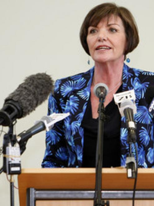 Education Minister Anne Tolley