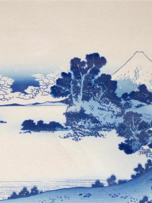 'Soshu Shichiri-ga-hama' by Katsushika Hokusai.