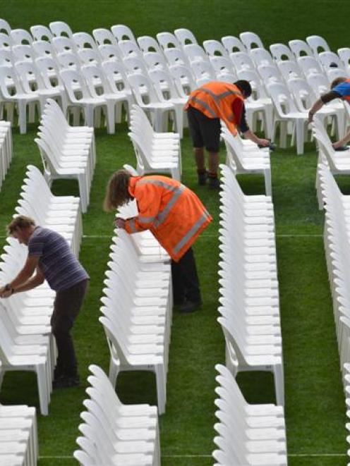 Stadium stage set for Rhymin' Simon | Otago Daily Times Online News