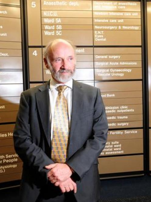 Prof John Campbell warns the elderly will suffer if Dunedin loses neurosurgery. Photo by Craig...