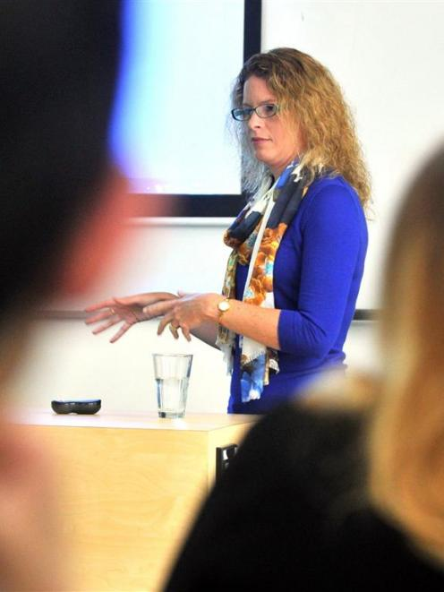 Prof Shari Forbes, of the University of Technology Sydney Centre for Forensic Science, is in...