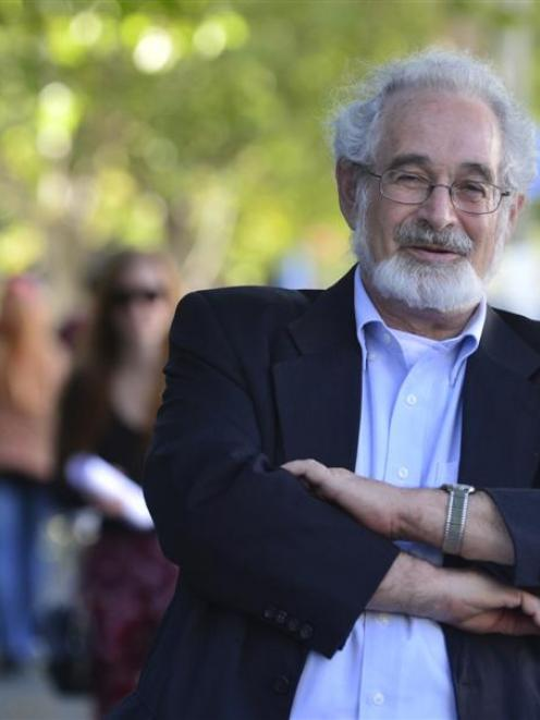 Prof Stanton Glantz says the New Zealand Government is still soft on smoking. Photo by Peter...