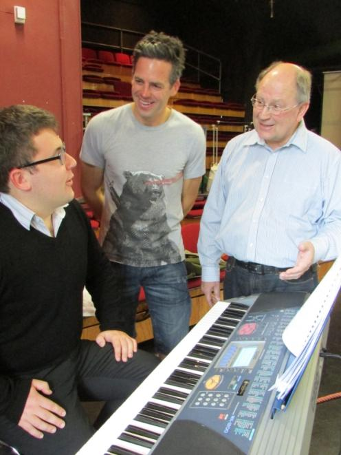 Professor Emeritus John Drummond (right), who is directing two operettas for Opera Otago _ his...
