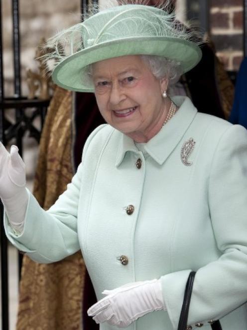 Queen Elizabeth. Photo Reuters