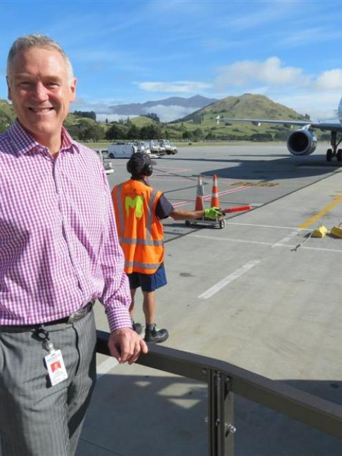 Queenstown Airport chief executive Scott Paterson says he expects the corporation to have '...