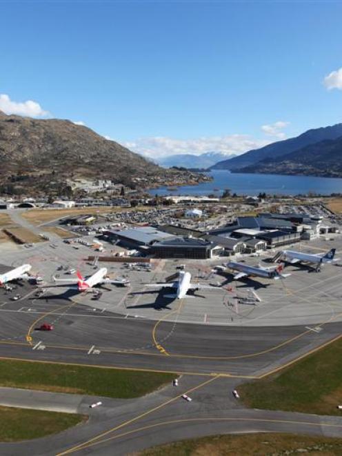 Queenstown Airport. Photo supplied.