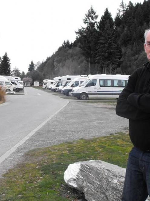 Queenstown Lakes District Council holiday park manager Greg Hartshorne says  the 2012 winter has...