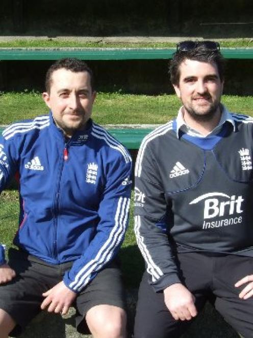 Queenstown men Matt Spooner (left) and Kyle Paterson hope to see the Otago Volts play in the...