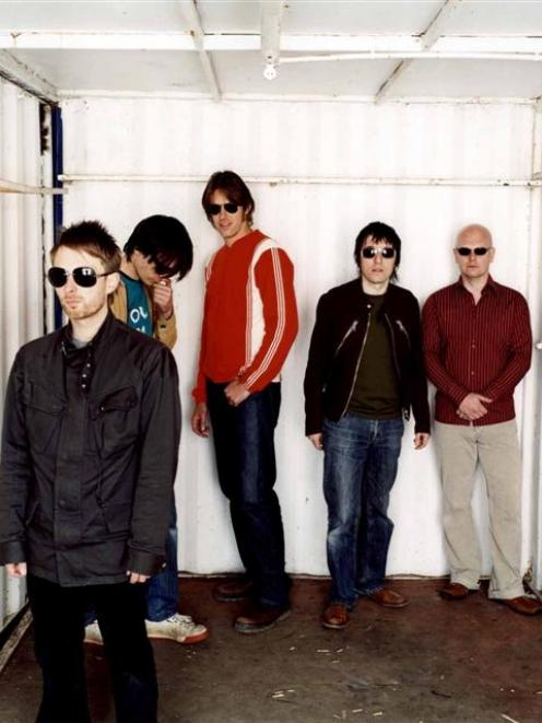 Radiohead will play in New Zealand in November. Photo supplied