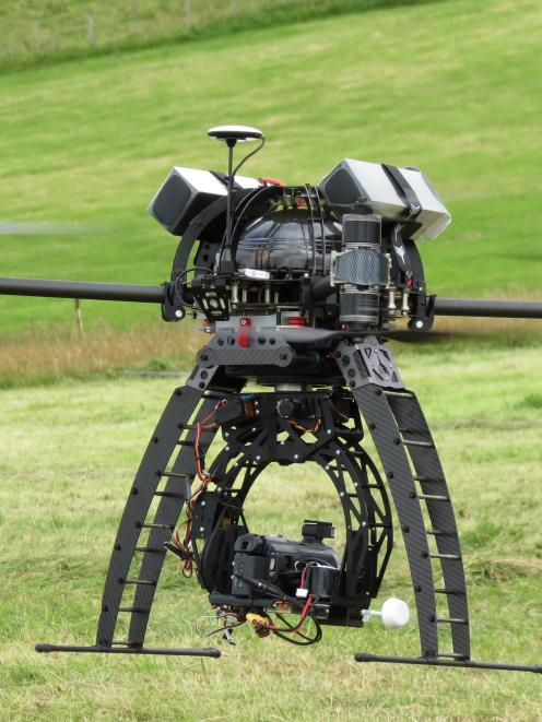 Raglan company Aeronavics' unmanned aerial vehicle, or drone, attracted a lot of attention during...