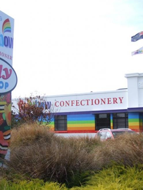 Rainbow Confectionery's factory in north Oamaru. Photo by Sally Rae.