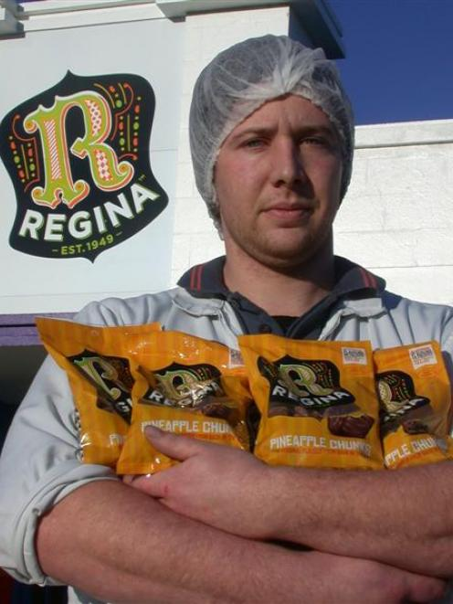 Rainbow Confectionery's Mike Elvidge heralds the return of the Regina label from the Oamaru lolly...