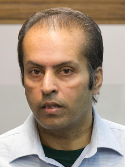 Rajeshwar Singh during his sentencing for the murder of his estranged wife Sarwan Lata. Photo: NZ...