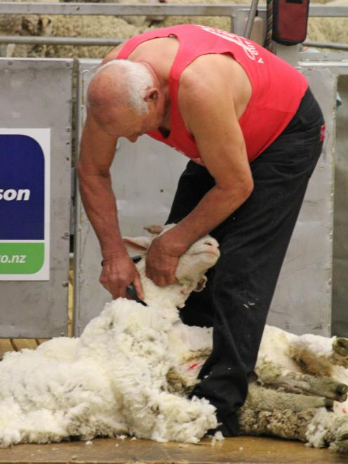 Rakaia shearer and Shearing Sports New Zealand South 