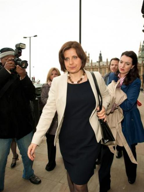 Rebecca Front stars as hapless MP Nicola Murray in the hit British comedy series The Thick of It....