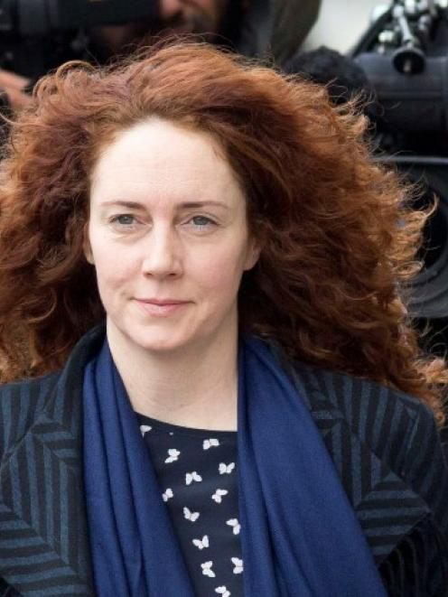 Rebekah Brooks arrives at the Old Bailey courthouse in London. REUTERS/Neil Hall