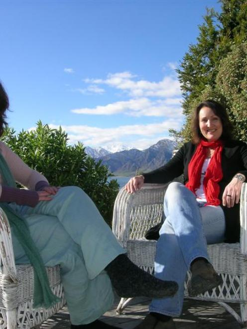 Red Retreats facilitators Tanette Hickey (left) and Lee Ball, of Lake Hawea, advocate a holistic...