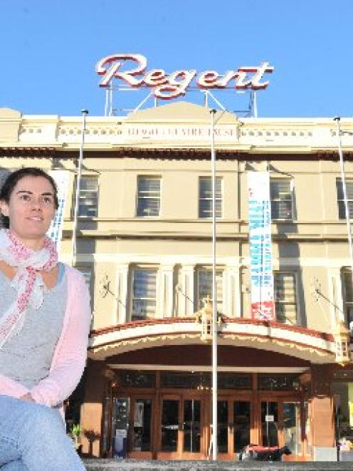 Regent Theatre marketing and communications manager Hannah Molloy yesterday. Photo by Linda...