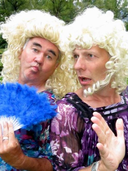 Remarkable Theatre actors Mike Legge (left) and Chris Parvin as the ugly sisters reveal all about...