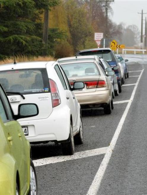 when parking on a public road drivers should