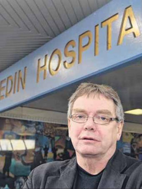 Resigned . . . Former mental health consumer adviser Graham Roper. Photo Peter McIntosh