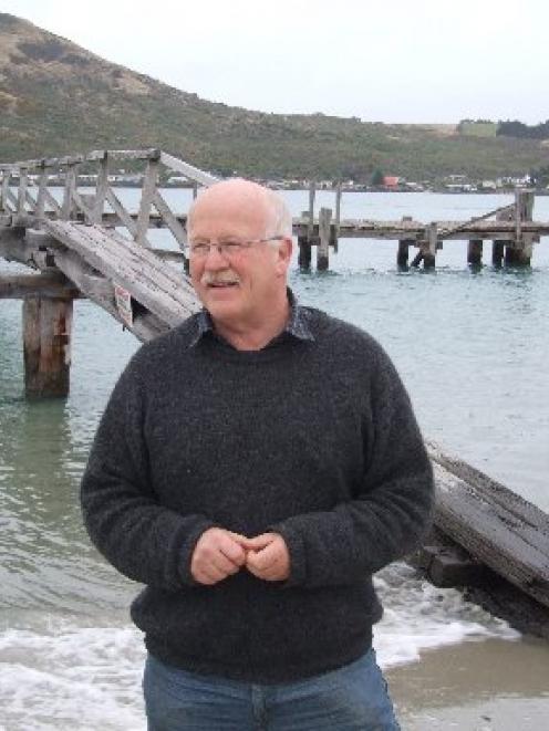 Restoration urged: John Davis, of the Aramoana League, is urging the Dunedin City Council to...