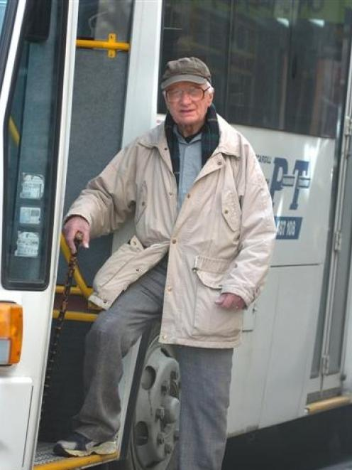 Retired London Transport bus engineer Bob Hadley (90), of Dunedin, is looking forward to the...