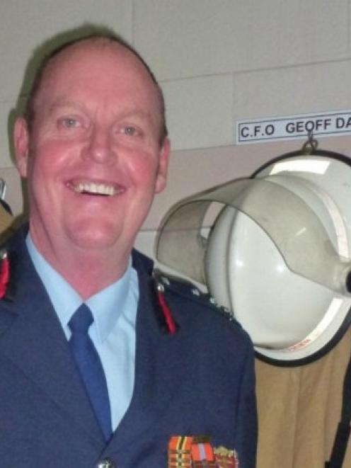 Retiring Palmerston Volunteer Fire Brigade chief fire officer Geoff Davis has seen many...