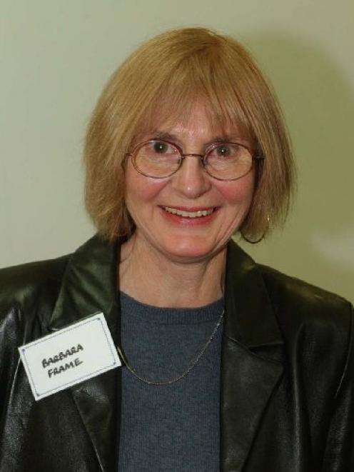 Reviewer Barbara Frame