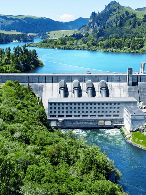 Risk of regulation: Mighty River Power's Whakamaru Power Station, on the Waikato River. Photo...