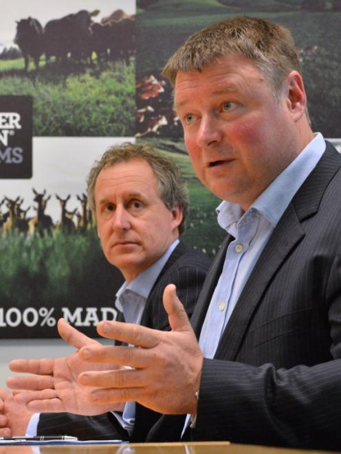 Rob Hewett, chairman of Silver Fern Farms outlines the company's partnership deal with Shanghai...