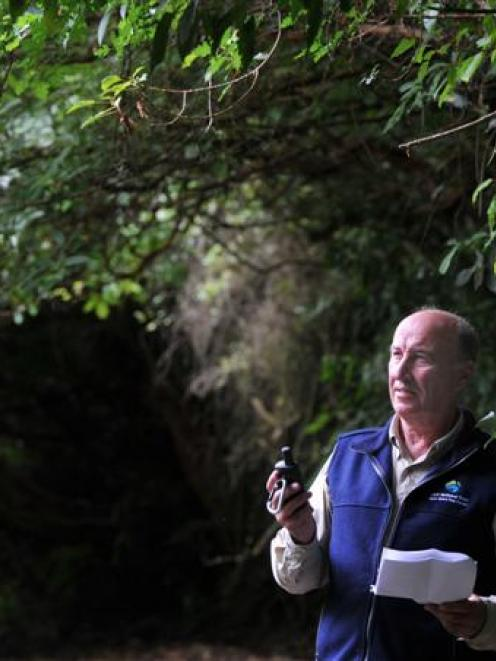 Robin Thomas is enjoying his new role as Queen Elizabeth II National Trust's Coastal Otago...
