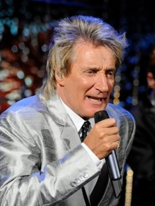 Rod Stewart plays Forsyth Barr Stadium in Dunedin tonight.