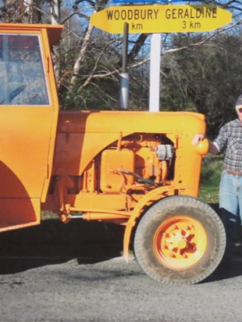 Roger Mahan, of Milburn, is looking forward to joining Chamberlain 9G Tractor Club of Western...